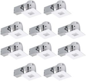 Globe Electric 4 inch Die-Cast Swivel Trim Recessed Lighting Kit Review