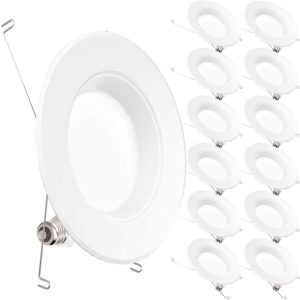 Sunco Lighting 12 Pack 5 by 6 Inch LED Recessed Downlight Review