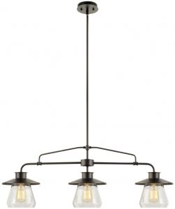 Globe Electric 64845 Nate 3-Light Pendant
