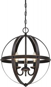 Westinghouse Lighting 6341800 Stella Mira Three-Light Pendant
