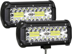 AUZKIN 240W Inches LED Light Bar Submersible Driving Lights