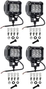 Cutequeen 18W 1800LM LED Spot Light for Off-Road
