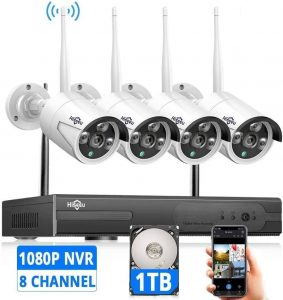 Hiseeu Wireless Security Camera System With 8 Channel NVR