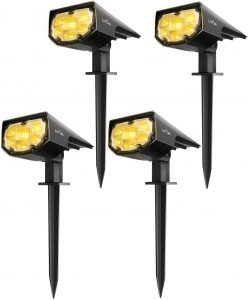 LITOM 12 LED Solar Landscape Garden Lights Review