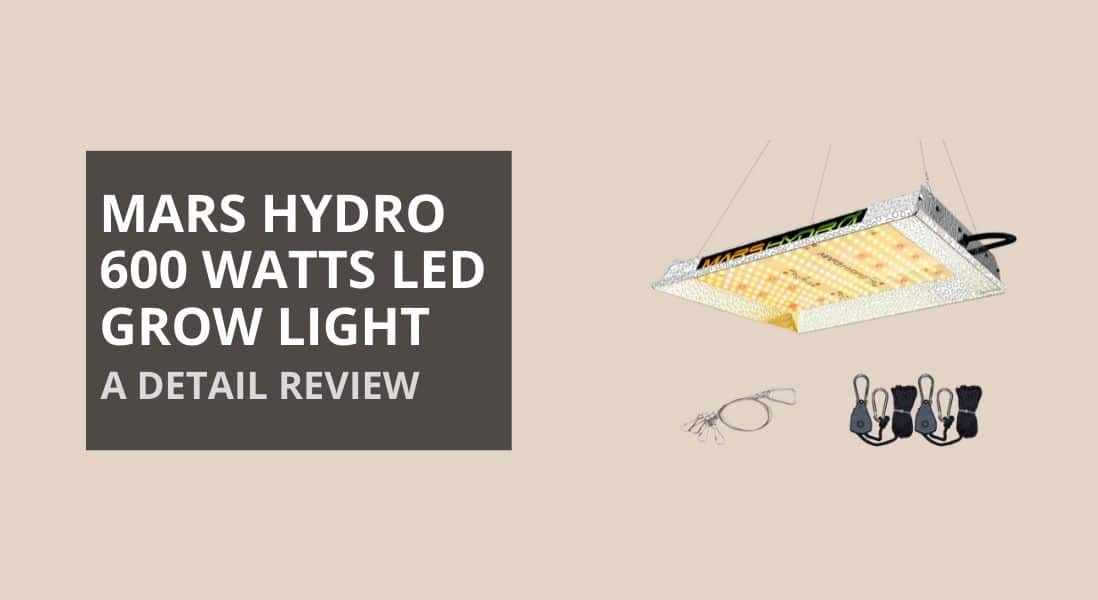 Mars Hydro 600w LED Review