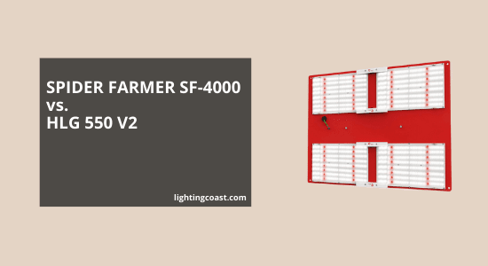 SPIDER FARMER SF 4000 vs. HLG 550 V2: Complete Comparison