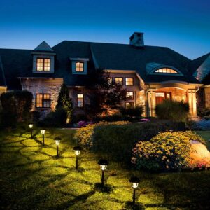 Solar-Powered Landscape Lighting